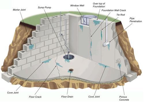 Xử lý như thế nào khi tường bị thấm nước?